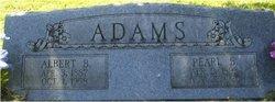 Pearl B <i>Boss</i> Adams Weir