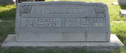 Katherine Elizabeth <i>Morrill</i> Pickett
