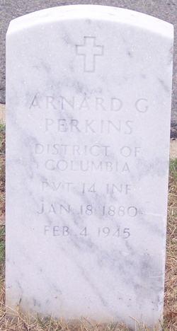 PVT Arnard G Perkins