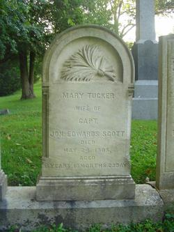 Mary Tucker <i>Rundlett</i> Scott