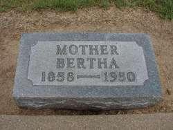 Bertha Louise <i>Scheidecker</i> Ahrens