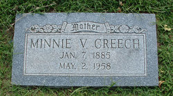 Minnie Velletta Creech