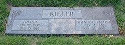 Blanche H <i>Taylor</i> Kieler