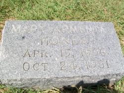 Mary Armenta <i>Donahoe</i> Honea