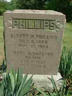 Mary A <i>McClurg</i> Phillips