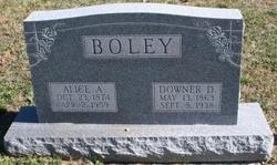 Alice Ann Allie <i>Oliver</i> Boley