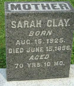 Sarah <i>Raub</i> Clay