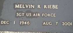 Melvin R Riebe