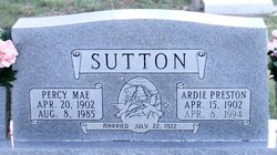 Ardie Preston Sutton