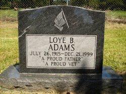 Loye Baxter Butch Adams, Sr