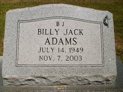 Billy Jack Adams
