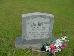 Rev William Dan Morehead