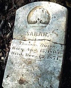 Sarah <i>Barron</i> Bacon