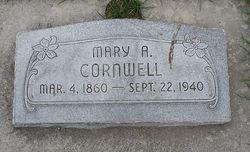 Mary Ann <i>Hatch</i> Cornwell