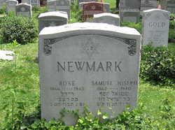 Rose <i>Cantkert</i> Newmark