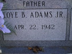 Loye Baxter Adams, Jr