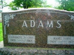 Randolph Peyton Adams