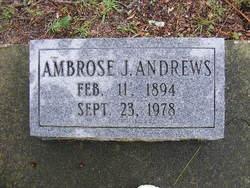 Ambrose J Andrews