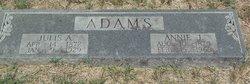 Annie J. <i>Redford</i> Adams