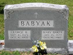 Mary <i>Baker</i> Babyak