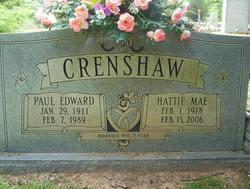 Hattie Mae <i>Lawley</i> Crenshaw