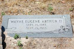 Wayne Eugene Arthur, II