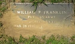 Pvt William P Franklin