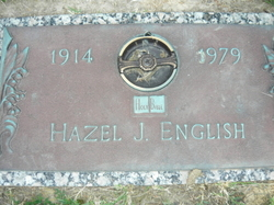 Hazel <i>Jones</i> English