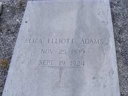 Eliza <i>Elliott</i> Adams