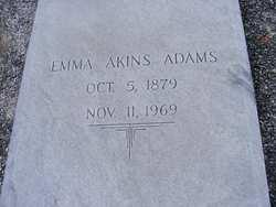 Emma <i>Akins</i> Adams