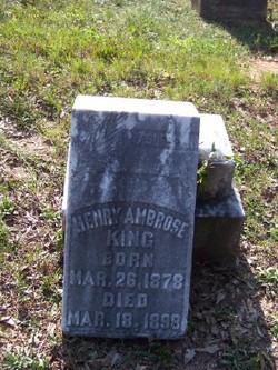 Henry Ambrose King