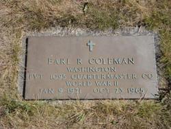 Earl Richard Coleman