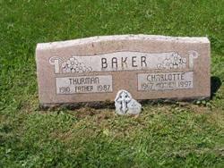 Charlotte Estella <i>Robbins</i> Baker