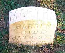 Martha <i>Samson</i> Barden