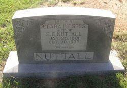Clara B <i>Estes</i> Nuttall