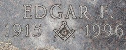 Edgar F Cole