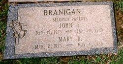 Mary Blanche <i>Dougan</i> Branigan