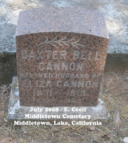 Baxter Bell Cannon