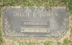 Delcie Elizabeth <i>Pellett</i> Bowen