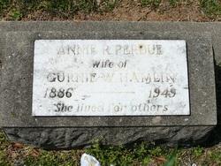 Annie R. <i>Perdue</i> Hamlin