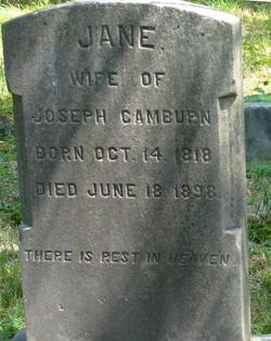 Jane <i>Thomas</i> Camburn