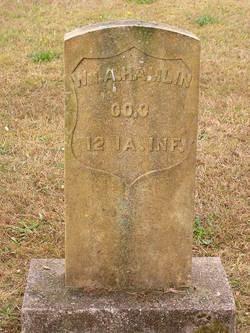 Pvt William A Hamlin