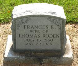 Frances Elizabeth <i>Whitley</i> Roden