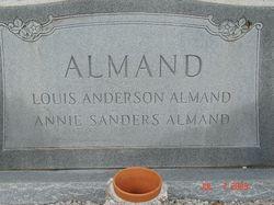 Nancy Annie <i>Sanders</i> Almand