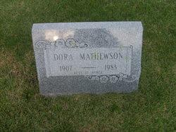 Dora Mathewson