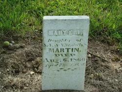 Mary E J Martin
