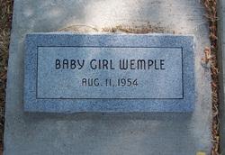 Baby Girl Wemple