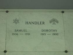 Dorothy Handler