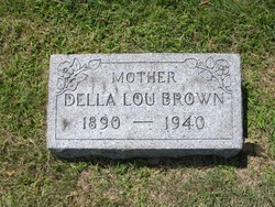 Della Lou <i>Willingham</i> Brown