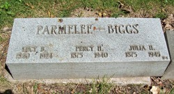 Julia H. <i>Parmelee</i> Biggs